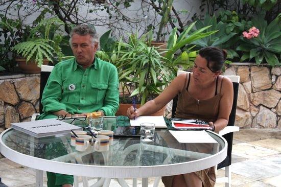 Jacques Rocher en tchat - Jacques Rocher et Christel Leca
