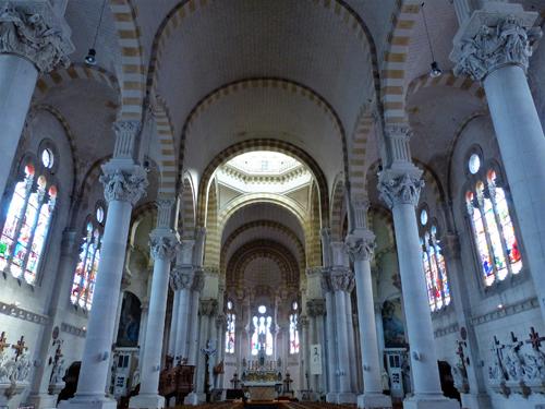 Ville de Nancy - Le Sacré Cœur de l'intérieur