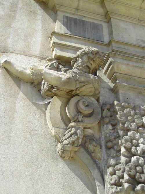 Ville de Nancy Détail de la porte de la Citadelle