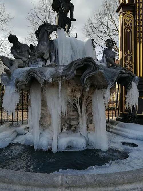 Ville de Nancy - Fontaine glacée