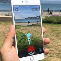 Pokemon en réalité augmentée