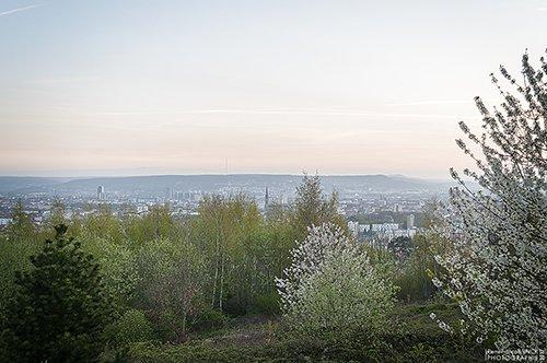 Ville de  Nancy - Vue panoramique