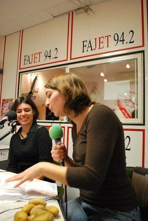 Ville de Nancy - Enregistrement d'émission à Radio FaJet
