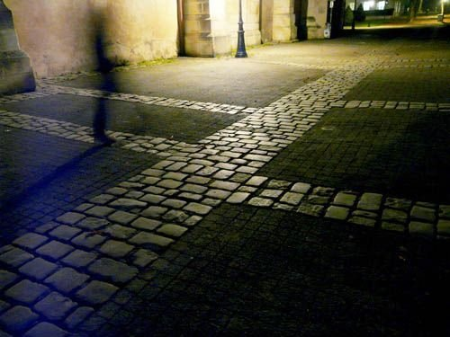 Ville de Nancy - Une silhouette sur la vieille ville