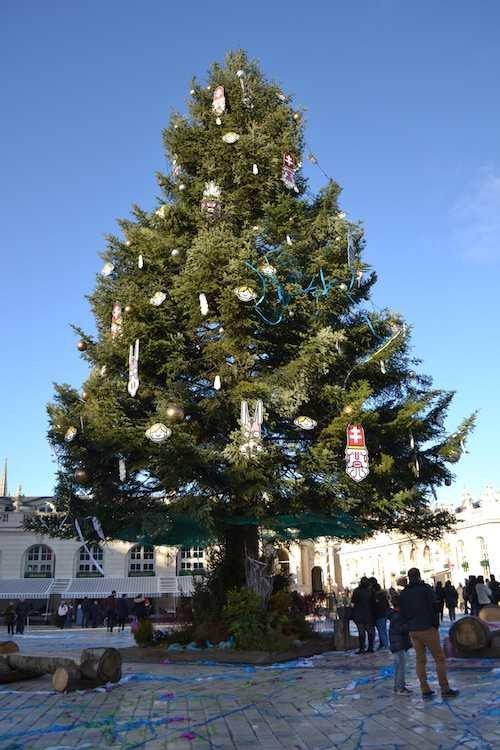 Ville de Nancy - Le sapin de Noël de la Place Stanislas