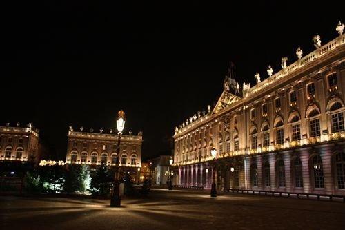 Ville de Nancy Place Stanislas de nuit