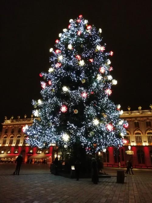 Ville de Nancy - Sapin de Noël 2018