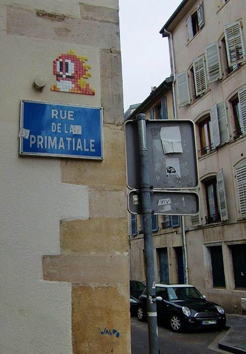 Ville de nancy - Street art