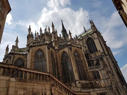 Ville de Nancy - Arrière de la Basilique Saint Epvre