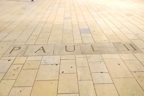 Ville de Nancy - Parvis Jean-Paul II