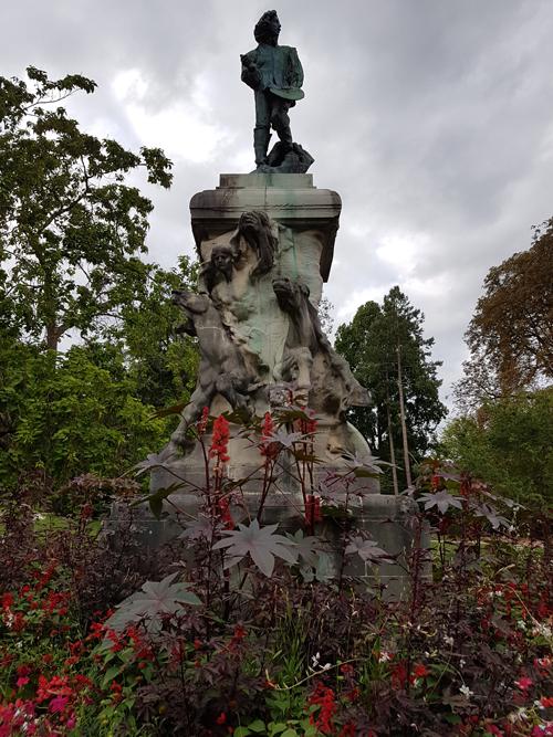 Ville de Nancy - La Pépinière et la grisaille