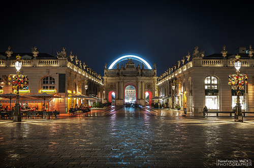 Ville de Nancy - Place Stanislas illuminée #BonReveillon