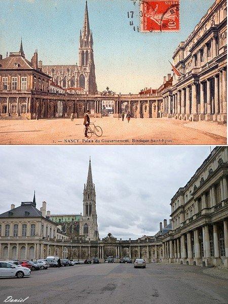 Ville de Nancy - Vue sur la basilique Saint-Epvre