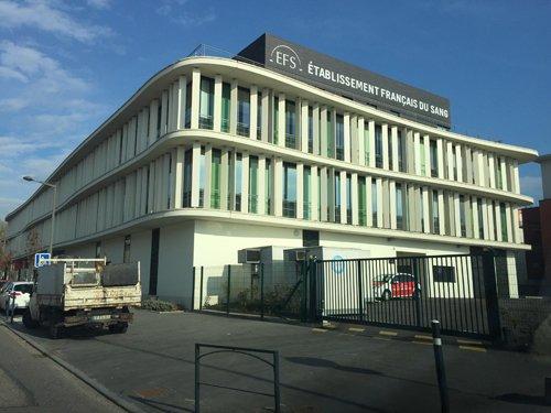 Ville de Nancy - Bâtiment de l'EFS