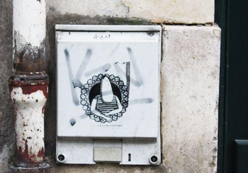 Ville de Nancy - Street Art par Monsieur rue Saint Dizier