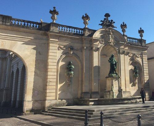 Ville de Nancy - Statue de Jacques Callot (Place Vaudémont)