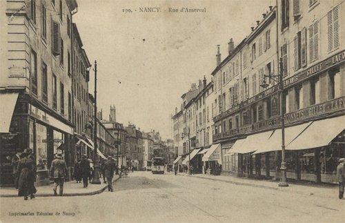Ville de Nancy - Rue d'Amerval