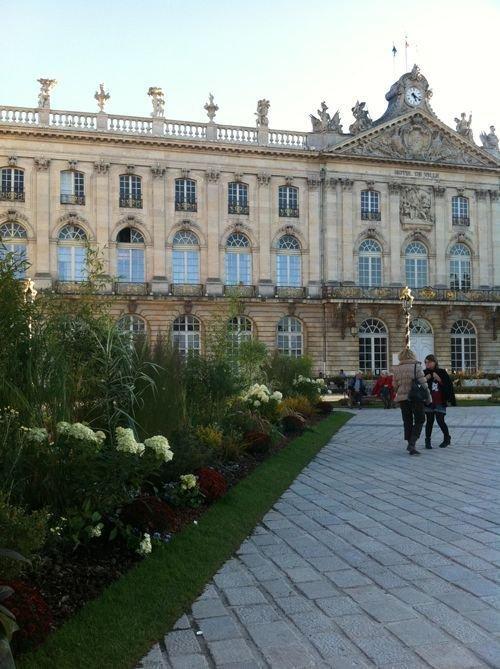 Ville de Nancy Jardin éphémère de la place Stanislas