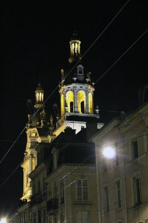 Ville de Nancy - Cathédrale de nuit