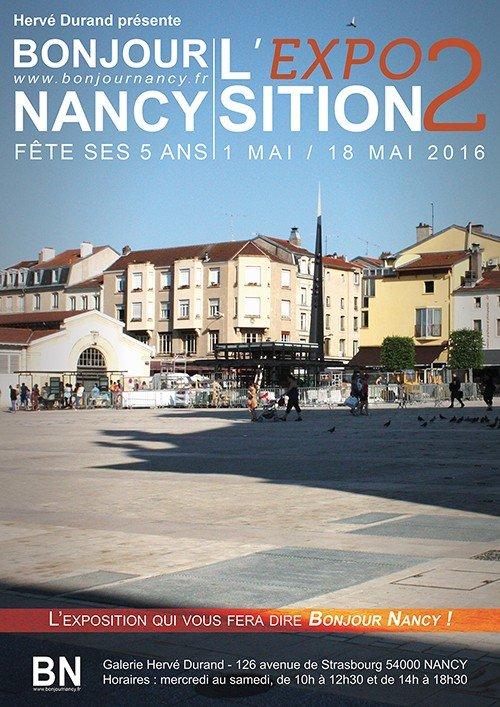 Ville de Nancy - L'exposition qui vous fera dire Bonjour Nancy !