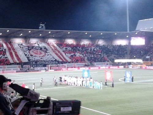 Ville de Nancy - Nancy vs Marseille du 16 septembre