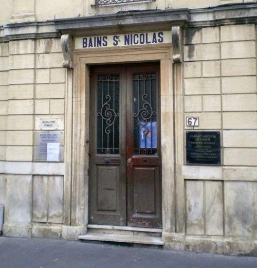 Ville de Nancy - Bains Saint-Nicolas rue Saint Nicolas