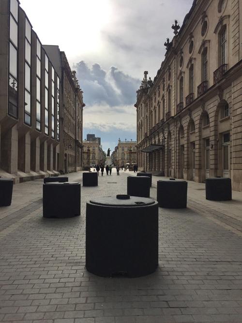 Ville de Nancy - Depuis la rue Ste Catherine