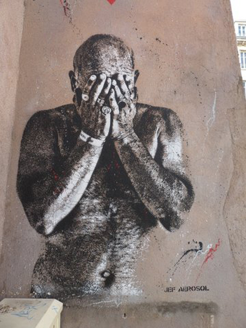 Ville de Nancy - Street Art by Jef Aérosol