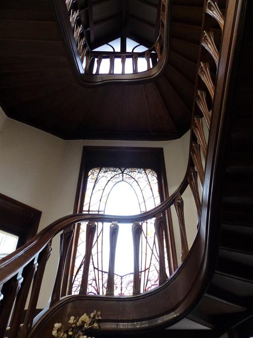 Ville de Nancy - Escalier de la Villa Majorelle