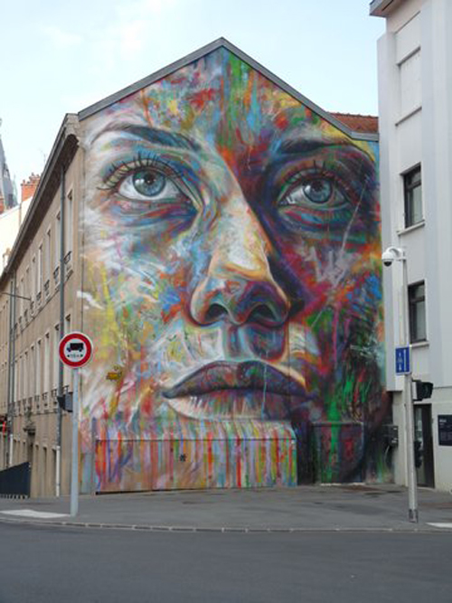 Ville de Nancy - Street Art by David Walker