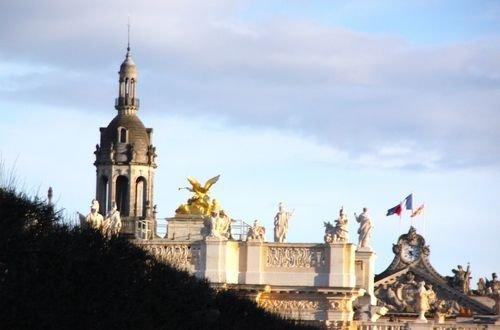Ville de Nancy - Vue depuis place Carrière