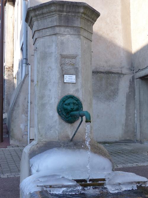 Ville de Vandoeuvre - Fontaine Rue Gambetta #GrandNancy