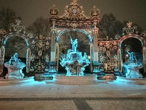 Ville de Nancy - Fontaine de la place Stanislas