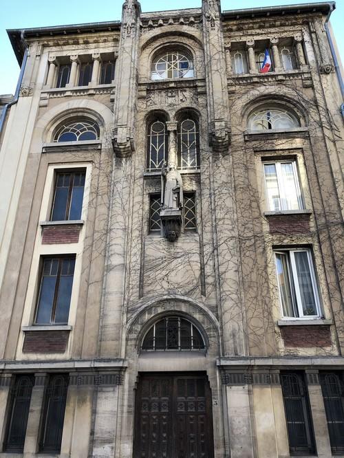 Ville de Nancy - Façade du GEC