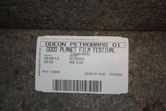 Ticket pour le GoodPlanet Film Festival