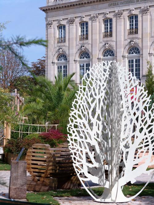 Ville de Nancy - Sculpture #JardinEphémère