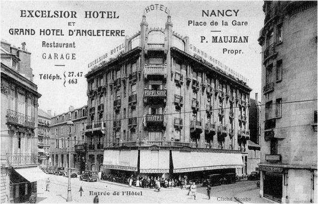 Ville de Nancy - Excelsior Hotel et Grand Hotel d'Angleterre