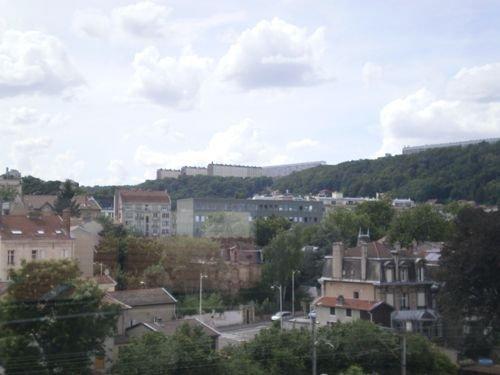 Ville de Nancy - Haut-du-lièvre vue de la médiathéque