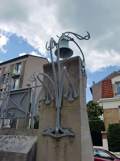Ville de Nancy - Une cloche Art Nouveau