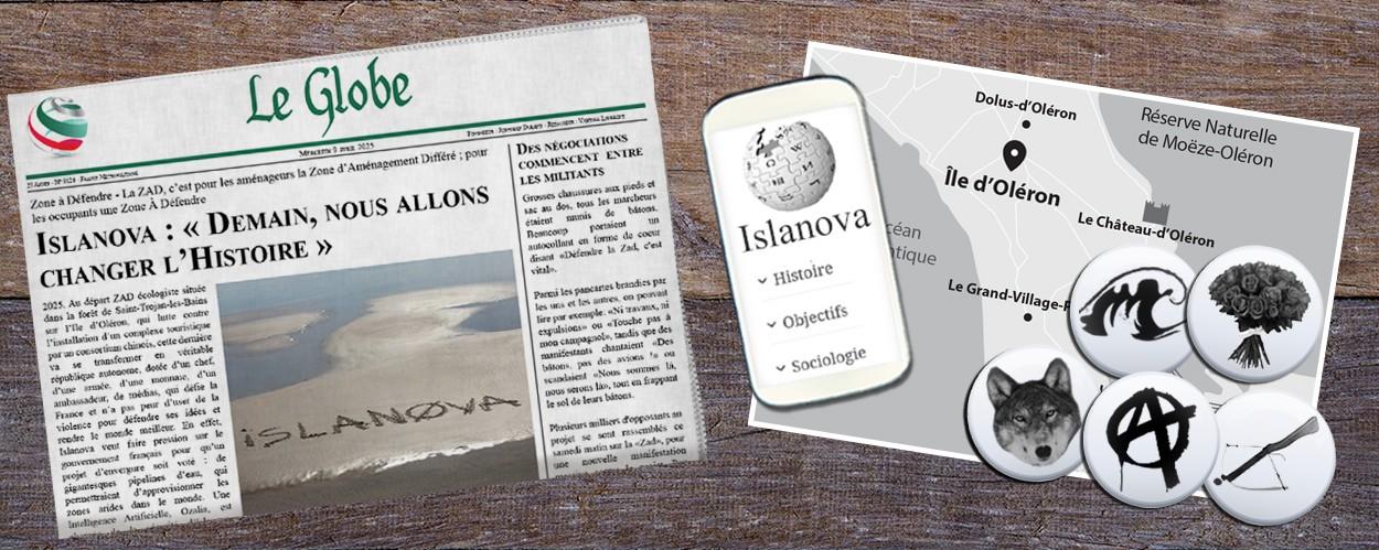 Contenu du site www.islanova-lelivre.com