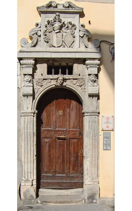 Ville de Nancy - Porte de l'hôtel de Chastenoy Grand rue