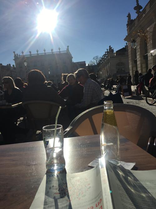 Ville de Nancy - Place Stan sous le soleil