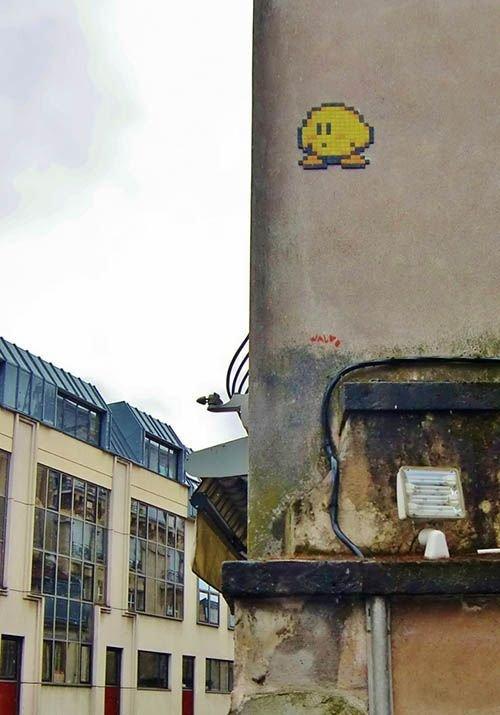 Ville de Nancy - Street art mode Pacman