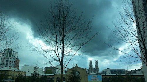 Ville de Nancy - Jour d'orage