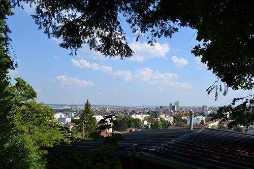 Ville de Nancy - Vue depuis la Maison de Jean Prouvé