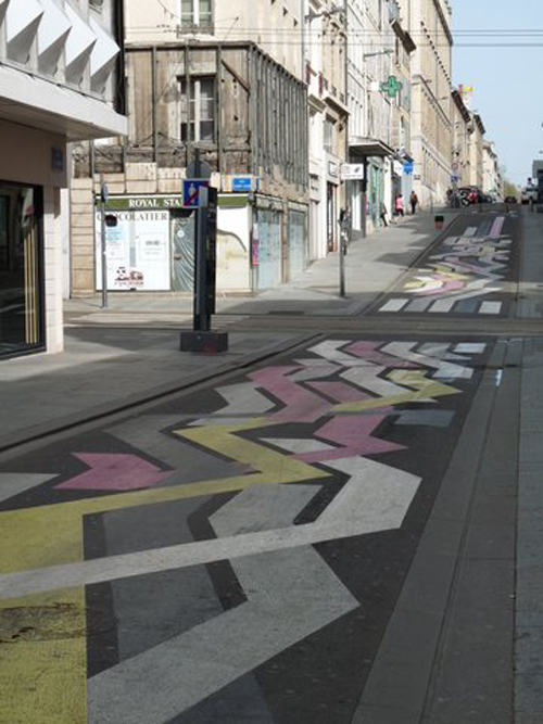 Ville de Nancy - Street Art by Daniel Baumann
