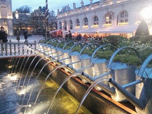 Ville de Nancy - Souvenir du Jardin ephémère