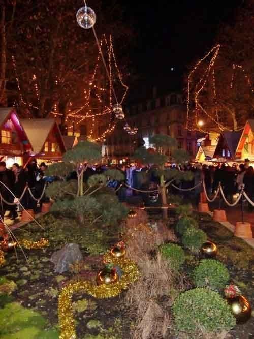 Ville de Nancy - Marché de Noèl place Maginot