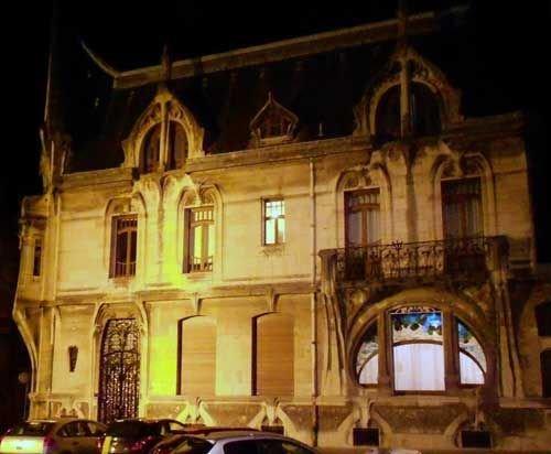 Ville de Nancy Villa de l'imprimeur Bergeret