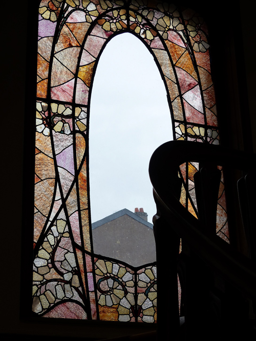 Ville de Nancy - Par la fenêtre de la Villa Majorelle